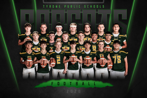 Tyrone 2020 Football Team Competes for  State Championship
